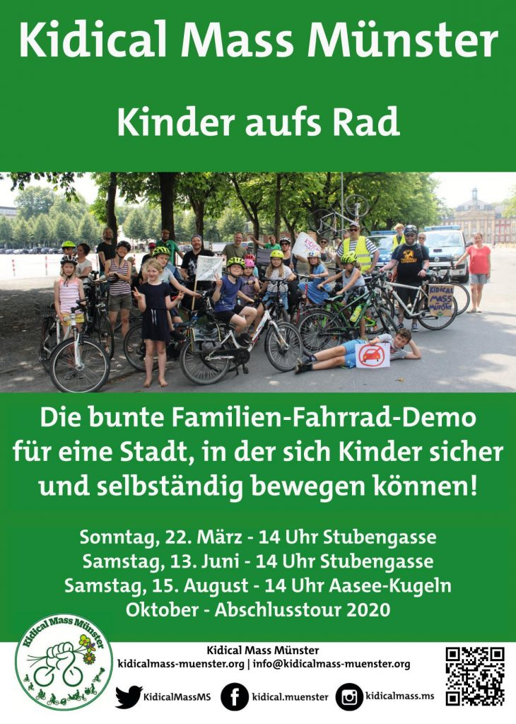 Plakat Kidical Mass